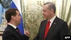 Дмитрий Медведев и Реджеп Тайип Эрдоган