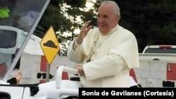 El papa Francisco llegará a Cuba el 19 de septiembre y los cubanos lo esperan con gran expectativa.