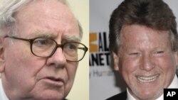 El millonario Warren Buffet y el actor Ryan O´Neal anunciaron esta semana que padecen de cáncer en la próstata.