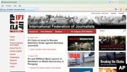 国际记者联合会网页截频