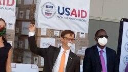 COVID-19: Amerika Yahaye u Rwanda Imashini Zifasha Kuvura Indembe