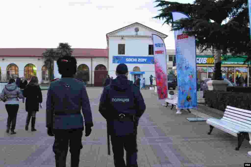 Полицейско-казачий патруль