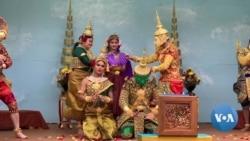 英语视频:柬埔寨面具舞在DC隆重登场