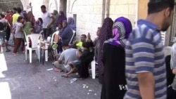 Hundreds of Displaced Muslims Shelter in Gaza Church