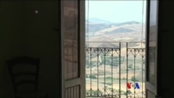 Sicily ကၽြန္းေပၚက Gangi ၿမိဳ႕ေလး