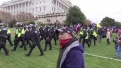 国会大厦遭冲击 美国人表示难以置信
