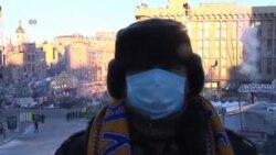 烏克蘭反政府抗議者不理會大赦繼續示威