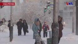 Yakutistan'da Hava Sıcaklığı -67 Dereceye Düştü