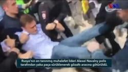 Rus Muhalefet Lideri Navalny'ye Yaka Paça Gözaltı