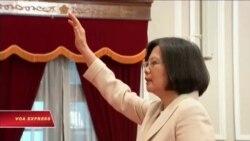 Tân tổng thống Đài Loan lên nhậm chức
