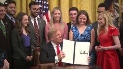 Tramp potpisao uredbu o slobodi govora na univerzitetima