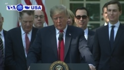 VOA60 America - Trump Hails 'Terrific' Trade Deal with Canada, Mexico