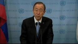 VOA Hausa: Majalisar Dinkin Duniya, Ban Ki-moon, Daliban Chibok, Mayu 12, 2014 (English)