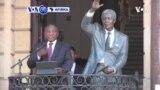 VOA60 AFIRKA: A Afrika ta Kudu Shugaba Syril Ramaphosa ya kammala bikin cika shekaru 30 da sakin marigayi Nelson Mandela daga gidan kurkuku