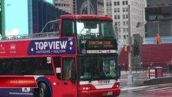 Ngành xe buýt du lịch nổi tiếng của New York thiệt hại nặng vì COVID