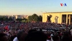 Başbakan TBMM Önünde Halka Seslendi