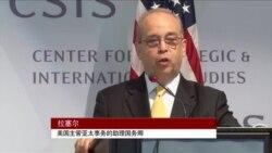 """美助卿:美国在南中国海原则问题上绝不""""中立"""""""