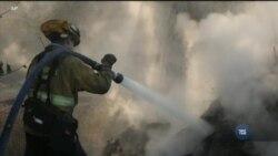 Каліфорнію охопили рекордні для штату пожежі. Відео