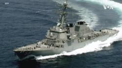 """美國軍艦在""""南沙群島""""實施航行自由行動"""