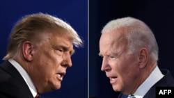 Shugaba Donald Trump da abokin hamayyarshi Joe Biden