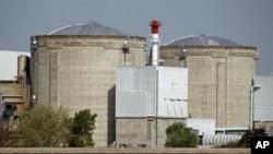 France's oldest Electricite de France nuclear power station in Fessenheim, April 10, 2011