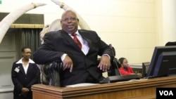 Zimbabwe parliament Speaker Jacob Mudenda.