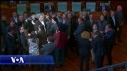 Skena dhune në Parlamentin e Kosovës