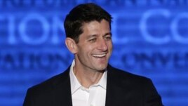 Vice presidential candidate Paul Ryan at Republican Convention, Aug. 29, 2012