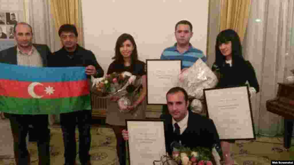 Saxarov Azadlıq mükafatının təqdimatı (Foto Ülvi Həsənlinindir)