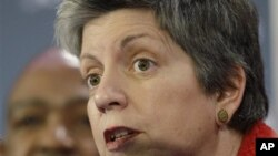 Janet Napolitano, Secretary of the Department of Homeland Security (file photo)