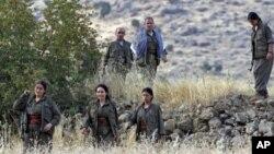 Çekdarên (PKK) li Çîyayê Qendîl