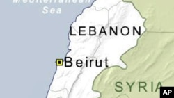 Nexşeya Libnanê.