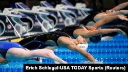 Test de sélection des nageuses américaines pour les JO-2016, Omaha, Nebraska, 1er juillet 2016
