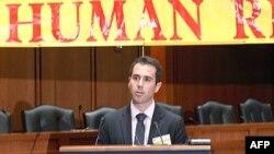 Ông Baer nói rằng việc thúc đẩy nhân quyền là một chiến dịch dài hơi.