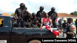 Membro do PRS detido pela polícia