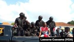 Polícia em Bissau (Foto de Arquivo)