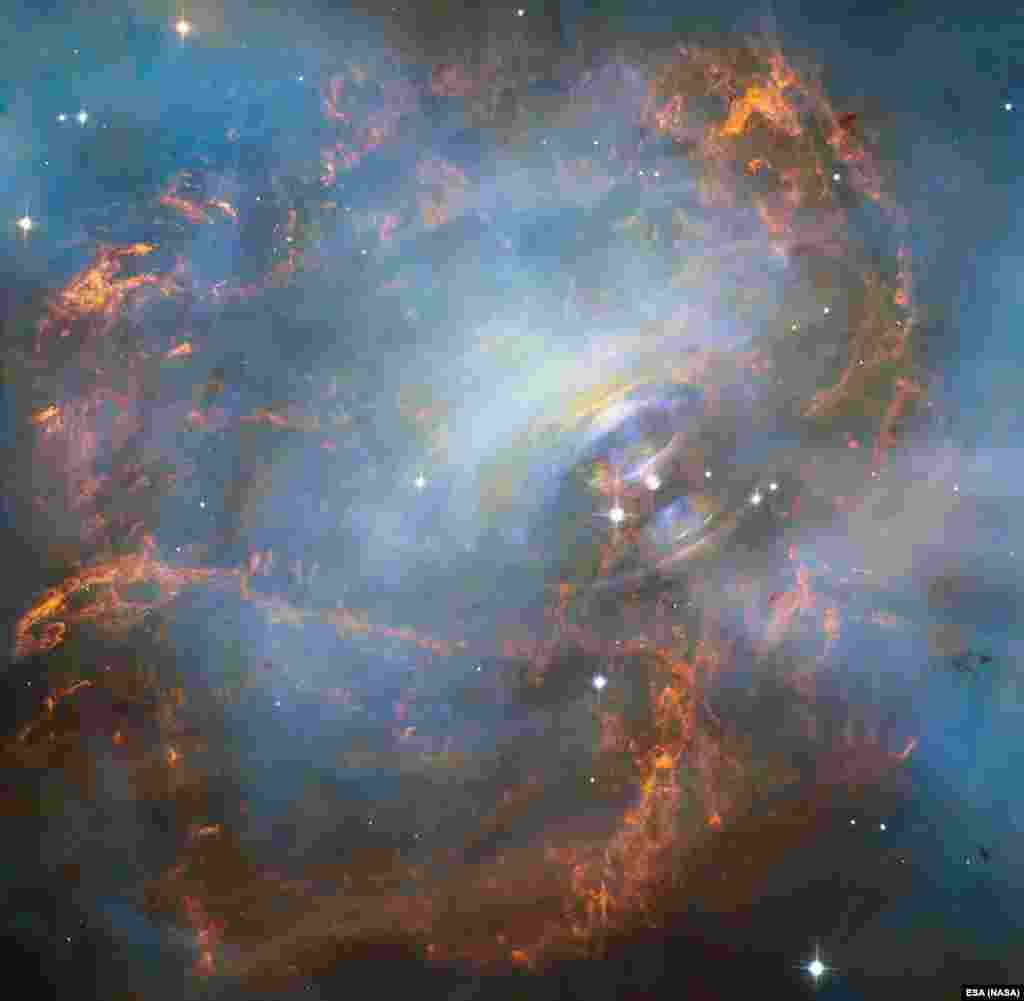 Peering deep into the core of the Crab Nebula, this close-up image captured by the NASA Hubble Space Telescope reveals the beating heart of one of the most historic and intensively studied remnants of a supernova, an exploding star.