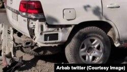 Séquelles d'une explosion à Kaboul, en Afghanistan, le 13 septembre 2020. (Archives)