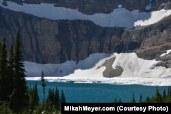 Iceberg Lake is a popular day hike destination in the park.