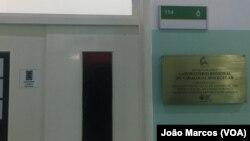 Laboratório de Virologia Molecular em Benguela