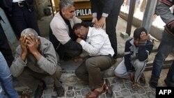 Реакція палестинців на ізраїльский рейд на Хан-Юніс у секторі Газа