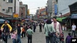 新竹县北埔有客家文化特色的山城