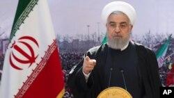 Tổng thống Iran, Hassan Rouhani.