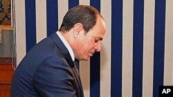 Le président Abdel Fattah Al-Sissi