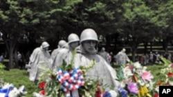 워싱턴 소재 한국전 기념비