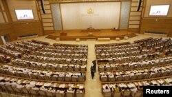 Suasana sidang Parlemen Burma di Naypyitaw (Foto: dok).