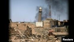 伊军方:伊斯兰国炸毁大清真寺意味着其权力的终结