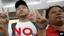 Para pekerja rumah tangga di Hong Kong gagal mendapatkan gugatan untuk memperoleh status sebagai penduduk tetap (foto: dok).