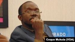 Coque Mukuta, correspondente da VOA em Luanda, Angola