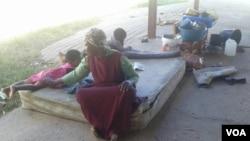 Omunye walabo abasuswa epulazini leArnorld Farm.